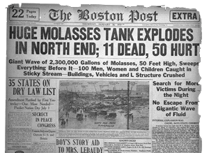 Engineering Ethics: The Great Boston Molasses Flood
